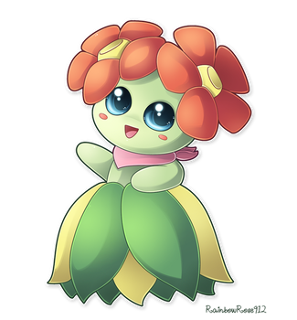 Commission: Heather the Bellossom by RainbowRose912