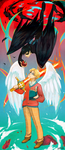 good omens - between heaven and hell by shorelle
