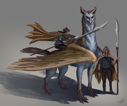 Griffin by Jeyfro