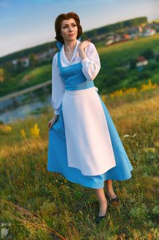 She's a funny girl that Belle by Ryoko-demon