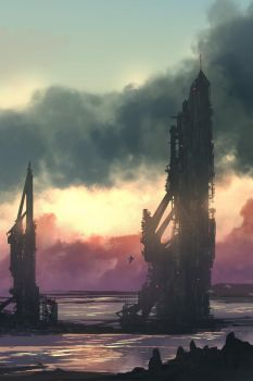 Oil Refinery by TacoSauceNinja