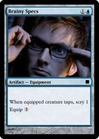 MtG: Brainy Specs by Itachi-Lawliet