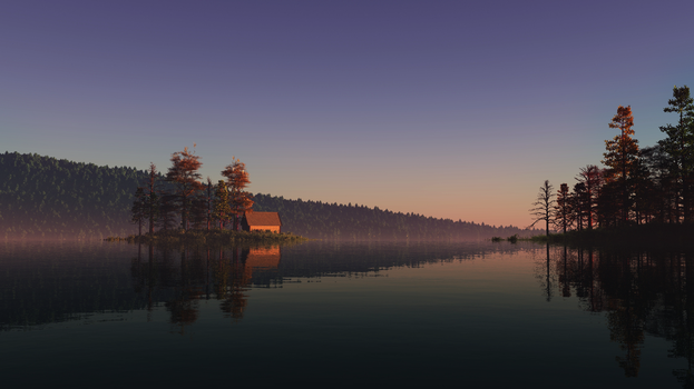 Lake at Dawn Official Version by GiulioDesign94