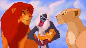The Lion King by NightAngelsLight