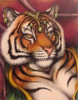 Tigress Will Be Tigress by teiirka