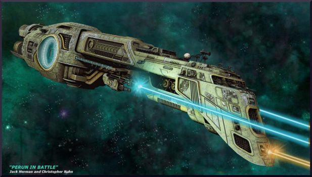 Perun in Combat by ChrisKuhn