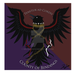 Commission - County of Bindings Sigil by HellmoonHV