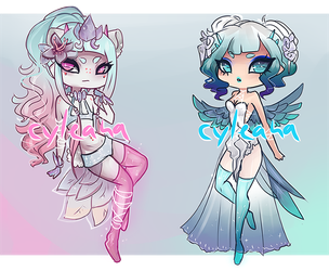 SP Gleamstic: Blue Hues [CLOSED] by Cyleana