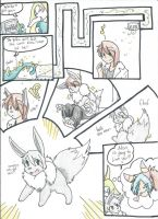 Shiny Eevee on RR tf by RaiinbowRaven