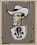 Hank Williams Sr comix by MadTwinsArt