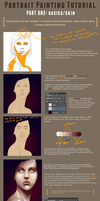 Portrait Painting Tutorial (part 1) by Chickenese