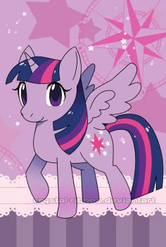 Twilight Sparkle by Crystal-Ribbon