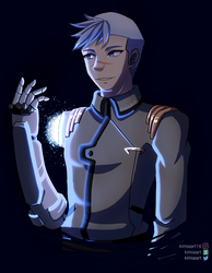 Shiro - Voltron T7 by KimiaArt