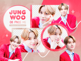 PNG PACK: Jungwoo #1 by Hallyumi