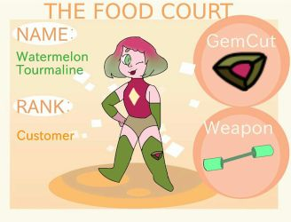 FC|| Watermelon Tourmaline by Shimmering-Moon