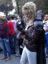 Jareth (Labyrinth) - Lucca Comics 2013 by Groucho91