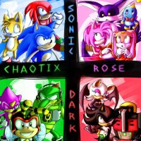 .:Sonic Heroes:. by Mitzy-Chan