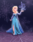 Elsa Commish by D-Gee