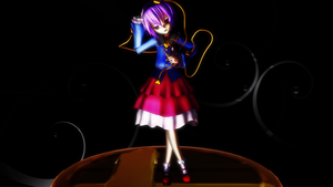 Smash Bros Trophy Satori Komeiji 2560x1440 by headstert