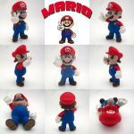 Super Smash Bros Mario Sculpture