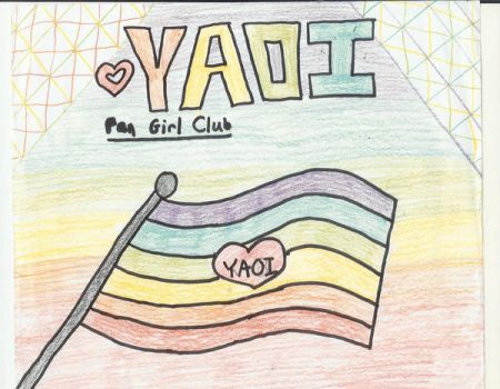 Yaoi Fan Girl Flag by iylover4life