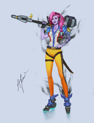 Overwatch- all in one! by Annaespirall