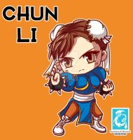 Street Fighter V -  Chun-Li [Maplestory Style] by RedCaliburn
