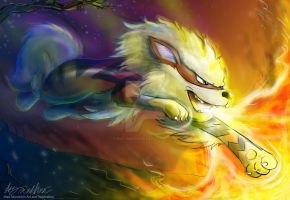 Arcanine by Mad--Munchkin