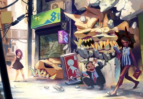 Monsters and Dames by NIW