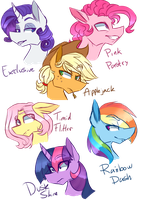 Mane 63 by Ajuee