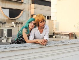 Haruka x Michiru - Cosplay Session 11 by Bahamut-Eternal