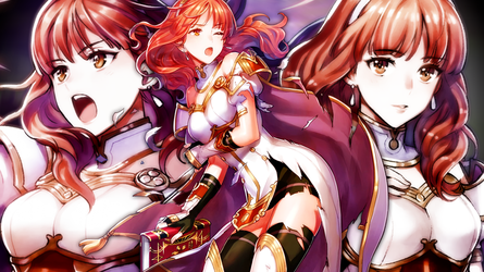 Fire Emblem Heroes - Celica Wallpaper by AuroraMaster