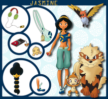 Fire pokemon trainer, Jasmine!