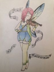 Fairy Bard by TaffyGiggleberry