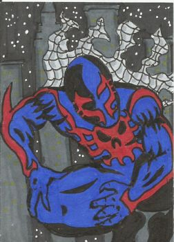 Spiderman 2099 by kylemulsow
