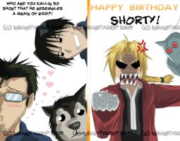 Have a FMA BDAY- 4phsychobunny by InsanityCorp