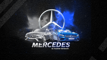 MERCEDES WALLPAPER by muamerART