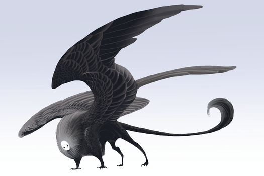 grey sphinx (adopted) by Grimmla