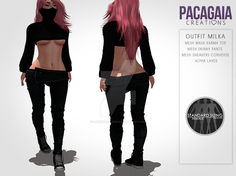 Outfit Milka by LainePacagaia