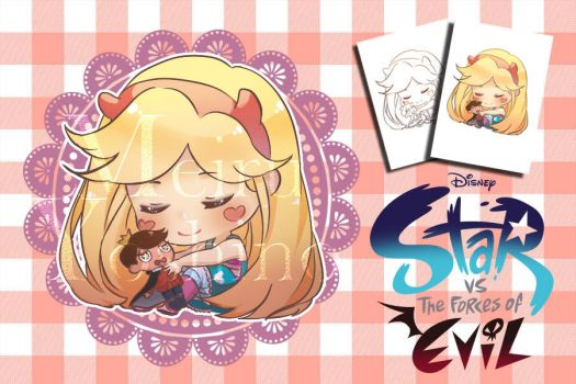 Star Butterfly - Chibi auction for points (Closed) by MeiruYoshino