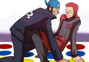 Twister game Hardenshipping by Ryokuso