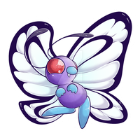 012 - Butterfree by RuizaUniverse