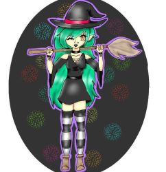 Body perspective of a Witch by AniCheshi