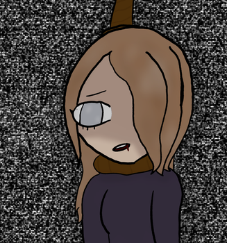 Becky is ded .^. (shes my other oc) by Violatjames
