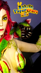 Poison Ivy (Injustice 2) Papercraft WIP by Sabi996