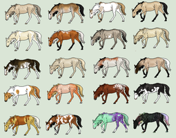 Cheap Adopts- 1 Left by horsegirl121