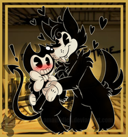 Bendy and Boris by Amanddica