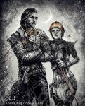 Joel and Sera by JustAnoR