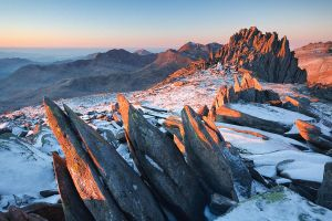 Sunrise, Castell y Gwynt by Alex37
