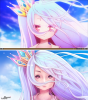 No Game No Life Redraw 2 by BemiTellove